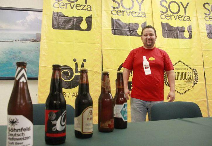 En el festival Soy Cerveza se presentarán varias marcas. (Israel Leal/SIPSE)