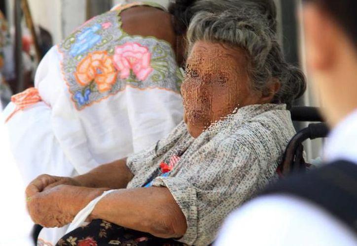 La discriminación contra adultos mayores no solo es un tema social, también familiar, afirma diputada. (Milenio Novedades)