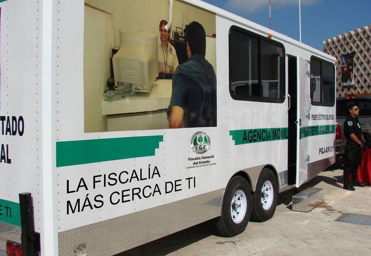 Módulos como éste funcionan en el Parque de San Juan y el Paseo de Montejo durante el Carnaval. (SIPSE)