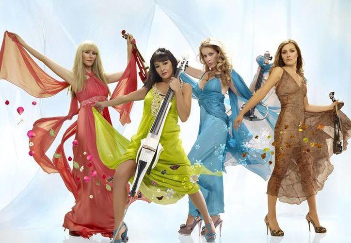 El Cuarteto Bond mezcla canciones clásicas con sonidos modernos, sus temas se han colocado en los primeros lugares de las radioemisoras europeas. (Facebook/Bond Quartet)
