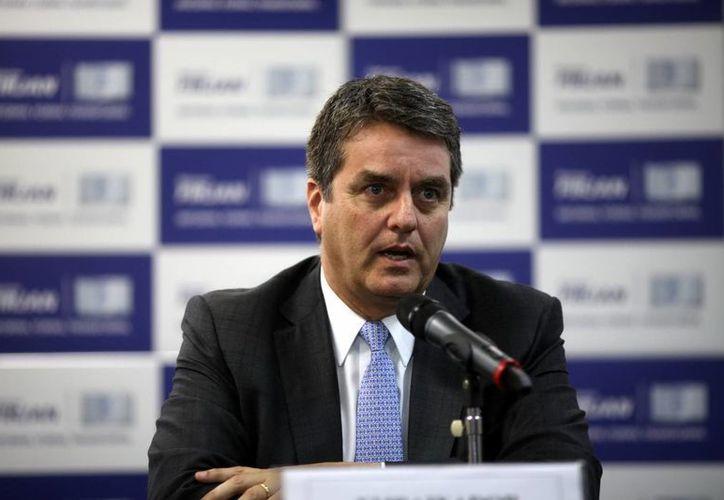 Roberto Azevedo, nuevo director general de la Organización Mundial del Comercio. (EFE/Archivo)