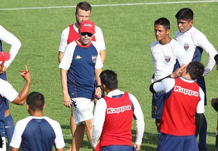 Los jugadores se concentran para los siguientes compromisos. (Ángel Mazariego/SIPSE)