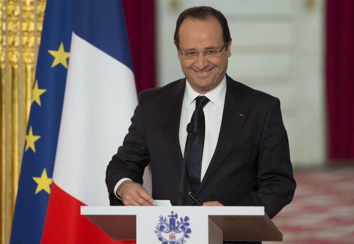 El presidente francés, Francois Hollande. (Archivo/EFE)