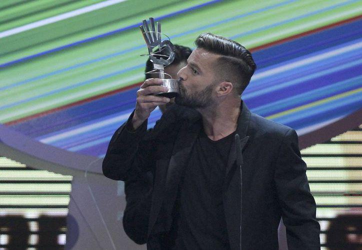 Ricky Martin, de ascendencia vasca, dijo que en España hay escenarios espectaculares para una gran boda. (EFE)