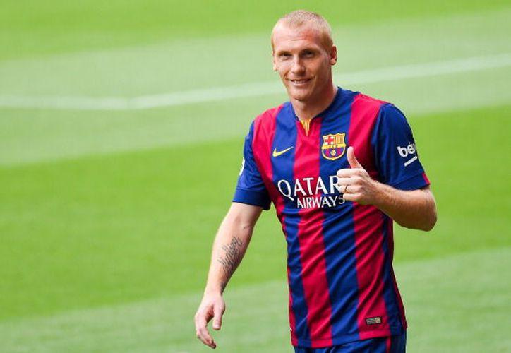 Jeremy Mathieu llegó en 2014 procedente del Valencia a cambio de 20 millones de euros. (Tribuna).