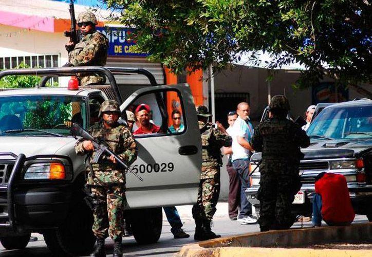 La Marina llegó a reforzar la vigilancia en algunos municipios de Tamaulipas. La foto es de contexto. (Archivo/Novedades de Quintana Roo)