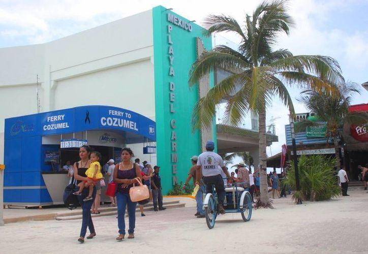 La Terminal Marítima de Playa del Carmen cuenta con acceso a internet. (Daniel Pacheco/SIPSE)
