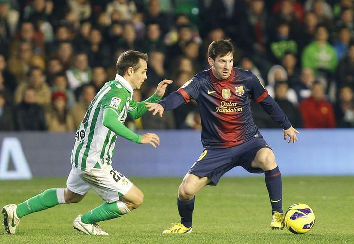 'El récord es bonito por lo que significa, pero lo más importante es que el equipo gane', señaló Messi. (Agencias)