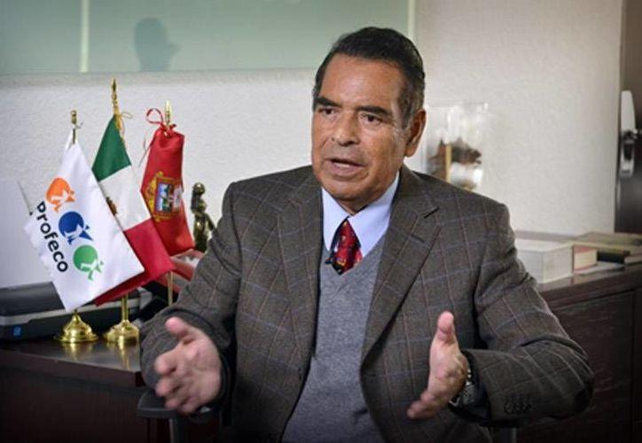 Humberto Benítez, titular de la Procuraduría Federal del Consumidor. (latinpost.mx)