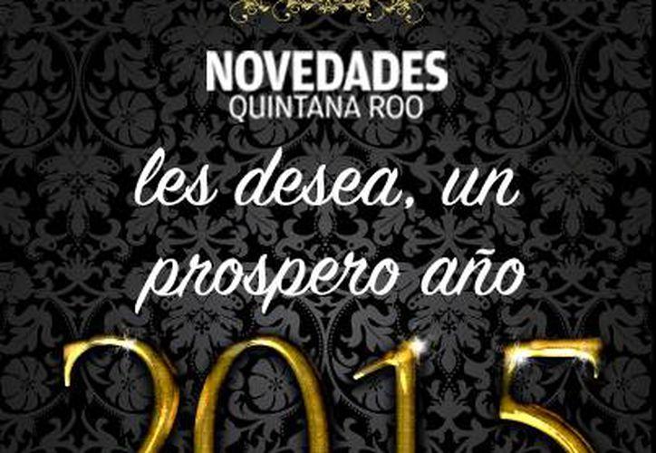 Te deseamos un feliz año nuevo. (Alexis Robles/SIPSE)