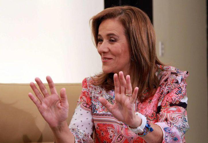 "Margarita Zavala visitó Cancún para promover su asociación ""Yo con México"" y charló con Novedades de Quintana Roo. (Luis Soto/SIPSE)"