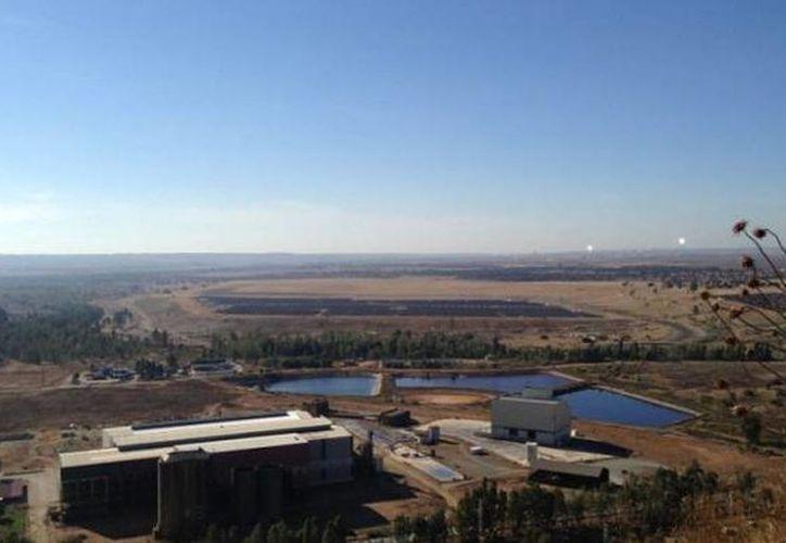 La explotación de la mina de Aznalcóllar había sido otorgada a Grupo México en marzo. (twitter/@elcorreoweb)