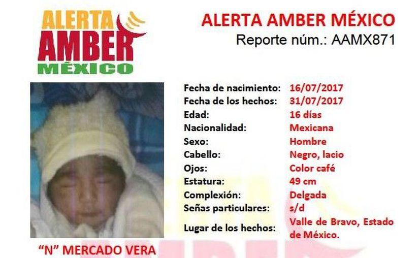 Las autoridades activaron la Alerta Amber tras la denuncia de la madre. (Foto: Twitter)
