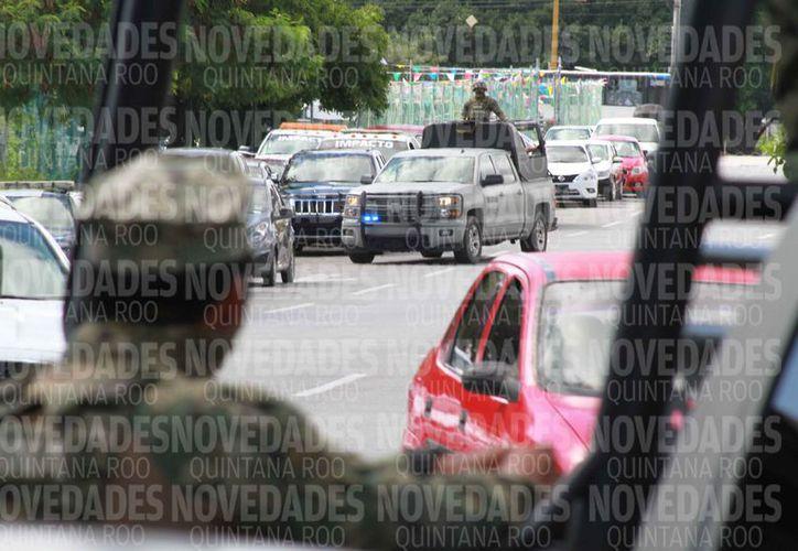 Diferentes cuerpos de seguridad vigilarán las calles de la ciudad. (Sergio Orozco/SIPSE)