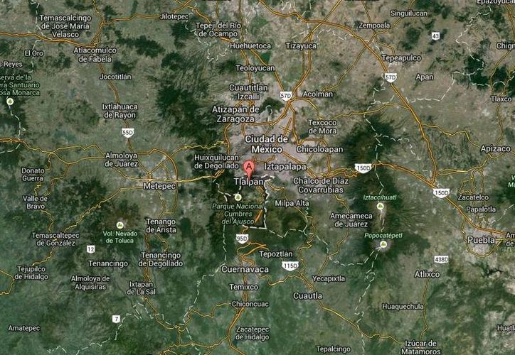 Los supuestos secuestradores detenidos en Tlalpan posiblemente son responsables de varios asesinatos, por lo cual se les investiga. (Google Maps)