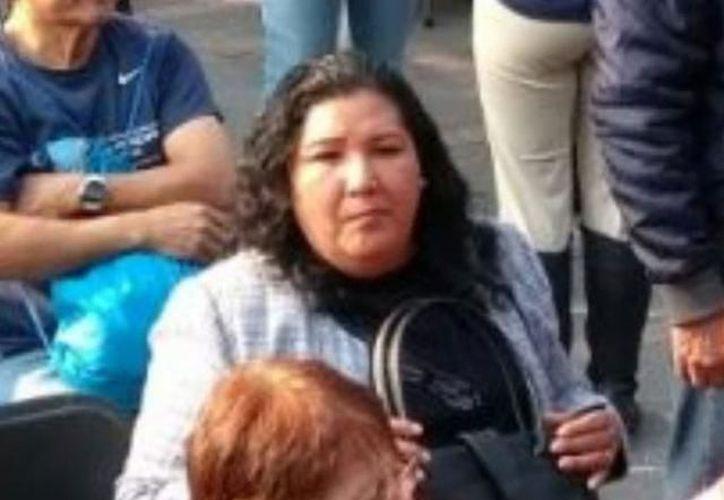 La mujer se encontraba en el mitin cuando comenzó el conflicto entre ambos partidos. (Foto: Uno Noticias).