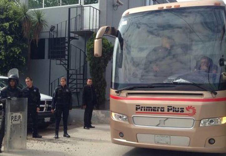 Los estudiantes detenidos fueron trasladados a la PGJ. (Quadratín)