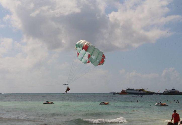 Los prestadores turísticos de playas prevén que tendrán una operatividad arriba del 60% . (Adrián Barreto/ SIPSE)