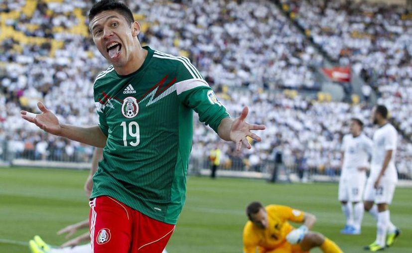 Oribe Peralta anotó tres tantos. (Foto: Agencias)