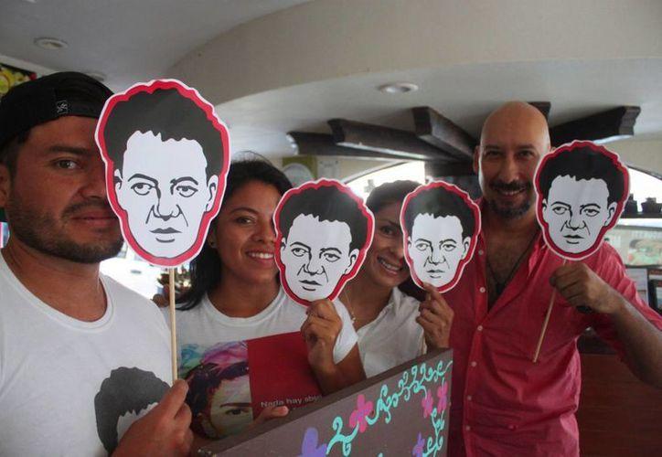 El movimiento 'Todas somos Frida' invita a la comunidad artística de Playa del Carmen al evento 'Revolución Ecléctica'. (Daniel Pacheco/SIPSE)