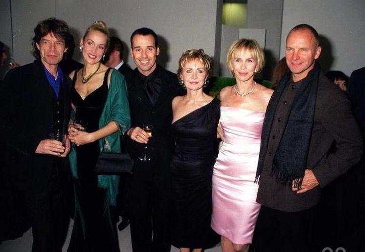 Sting (d) se enteró que Mick Jagger (i) dará un concierto en Cuba y ahora quiere hacerlo primero que él. (iorr.org)