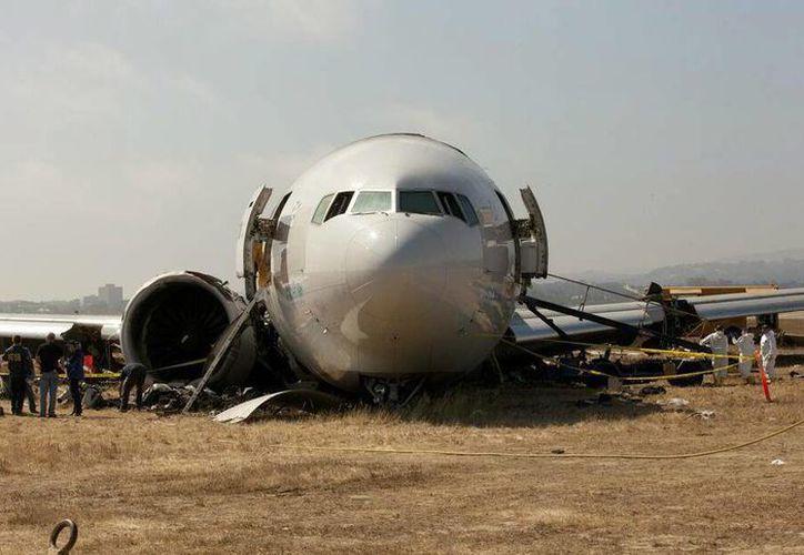 La investigación del accidente podría demorarse varios meses. (EFE)