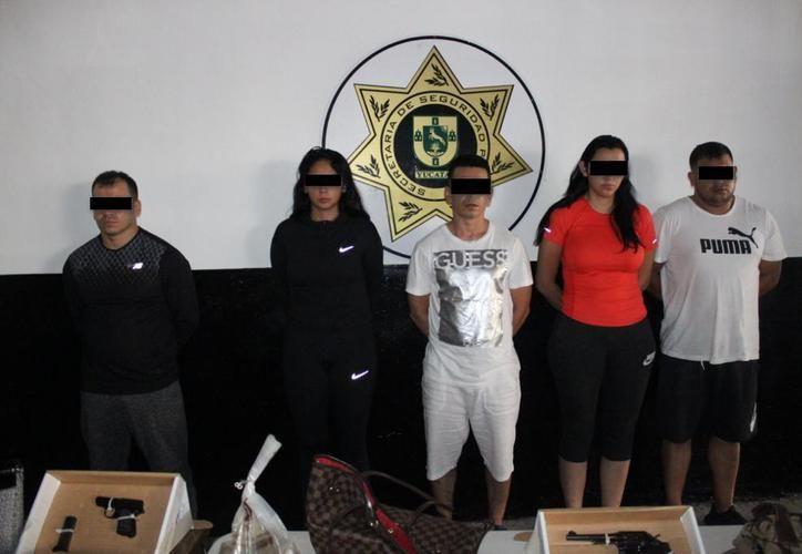 La banda de criminales mexicanos y colombianos robó en el Country Club el 30 de septiembre.