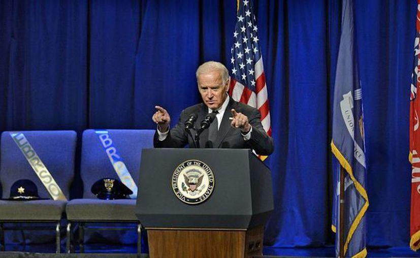 El vicepresidente estadounidense Joe Biden participará en un episodio de la serie 'La Ley y el Orden: Unidad de Víctimas Especiales'. (AP/archivo).