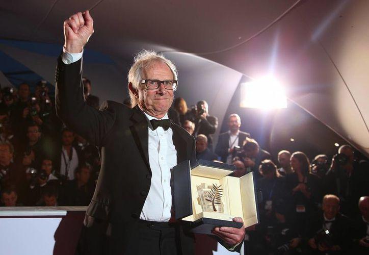 Ken Loach ha participado con 12 películas en el festival, entre ellas 'The Wind That Shakes the Barley', por la que obtuvo su primera Palma de Oro en 2006. (AP)