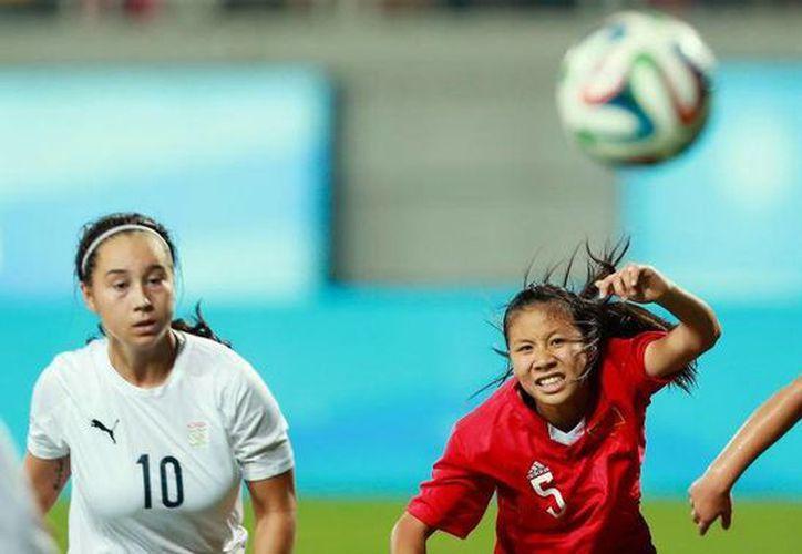 Venezuela deberá ganar a las anfitrionas chinas (foto) para obtener la medalla de oro en Nanjing el martes próximo. (nanjing2014.org)