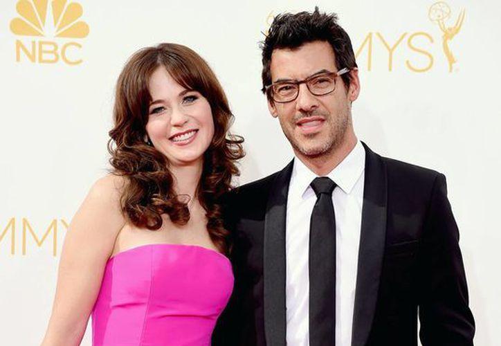 Zooey Deschanel y Jacob Pechenik serán padres por primera vez. (usmagazine.com)