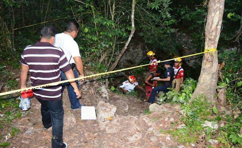 Un muchacho perdió la vida al caer en un cenote de Playa del Carmen; no sabía nadar. (Redacción/SIPSE)