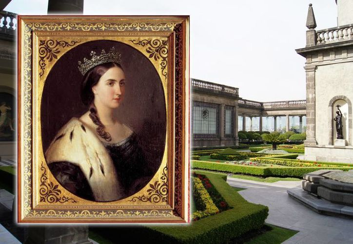 La emperatriz Carlota recorrió buena parte de México y el pueblo la aclamaba. Durante su breve regencia, los emperadores vivieron en el Castillo de Chapultepec, donde aún se pueden admirar sus reales aposentos. (Fotocomposición: SIPSE.com)