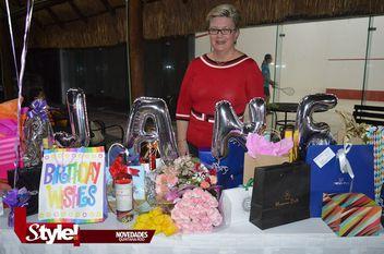 Jane García festejó un año más de vida.