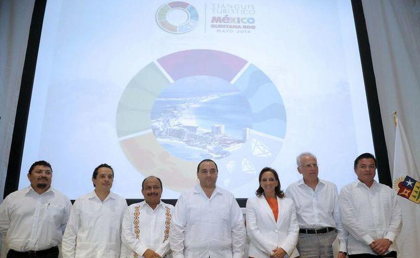 El Comité Organizador, presidido conjuntamente por la secretaria de Turismo y el gobernador de Q. Roo. (Redacción/SIPSE)
