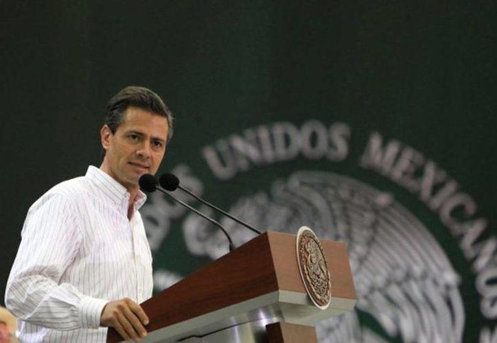 En su primera año de Gobierno, el presidente Enrique Peña Nieto privilegió algunas palabras, según un análisis de sus discursos. Entre los estados con más menciones están: Guerrero, Chihuahua, Sinaloa y Yucatán. (presidencia.gob.mx)