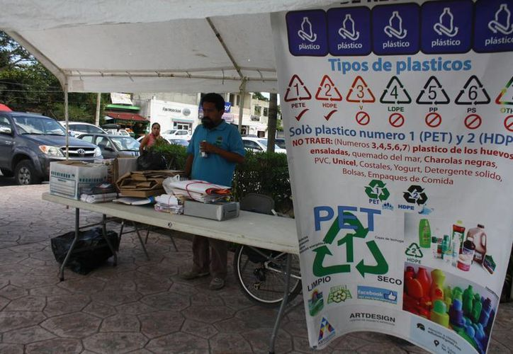 Buscan determinar el tipo de desechos que se generan enTulum para enforcar acciones de educación ambiental. (Sara Cauich/SIPSE)