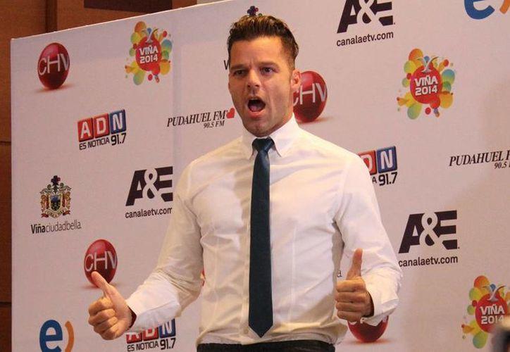Con 'Vida', Ricky Martin se ha posicionado en la radio de China. (Archivo Notimex)