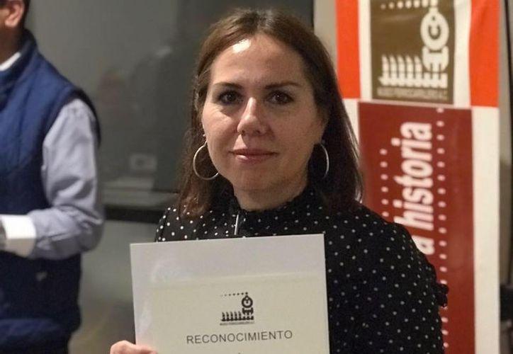 La historiadora Raquel Padilla Ramos es egresada de la Universidad Autónoma de Yucatán. (Especial)