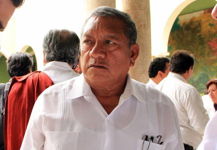 Daniel Quintal Ic, secretario de Obras Públicas. (Milenio Novedades)