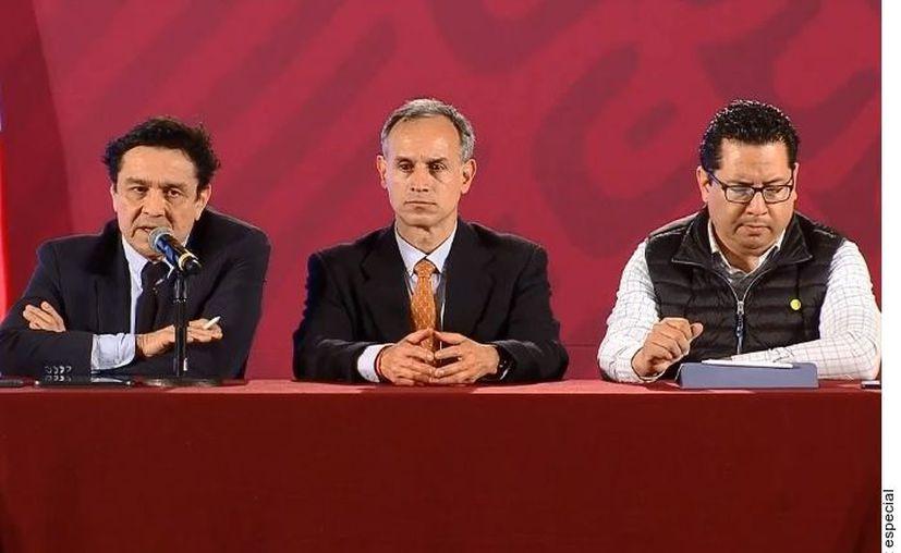 Hugo López-Gatell dijo que no aspiran a mitigar el virus, sino a controlarlo. (Agencia Reforma)