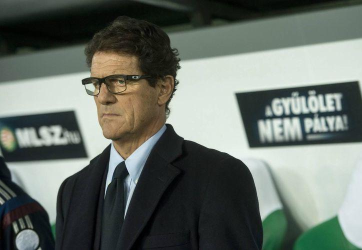 Por ahora es 'imposible' que Rusia le pagó los sueldos que le adeuda a Fabio Capello, entrenador de la Selección Nacional de Futbol. (EFE)