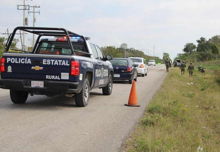 Autoridades mexicanas trabajan en coordinación con sus pares en Belice para inhibir el trasiego de droga y detectar situaciones ilícitas. (Joel Zamora/SIPSE)