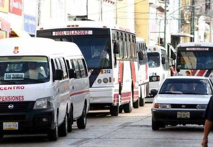 El transporte de Mérida requiere mejoría. (Novedades Yucatán)