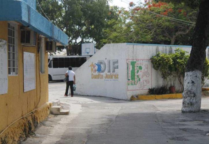El niño fue trasladado a las instalaciones del DIF. (Archivo/SIPSE)