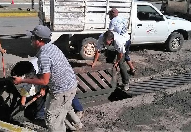 Se invirtió 400 mil pesos para la construcción de pozos de absorción en diversos puntos de la ciudad. (Javier Ortiz/SIPSE)