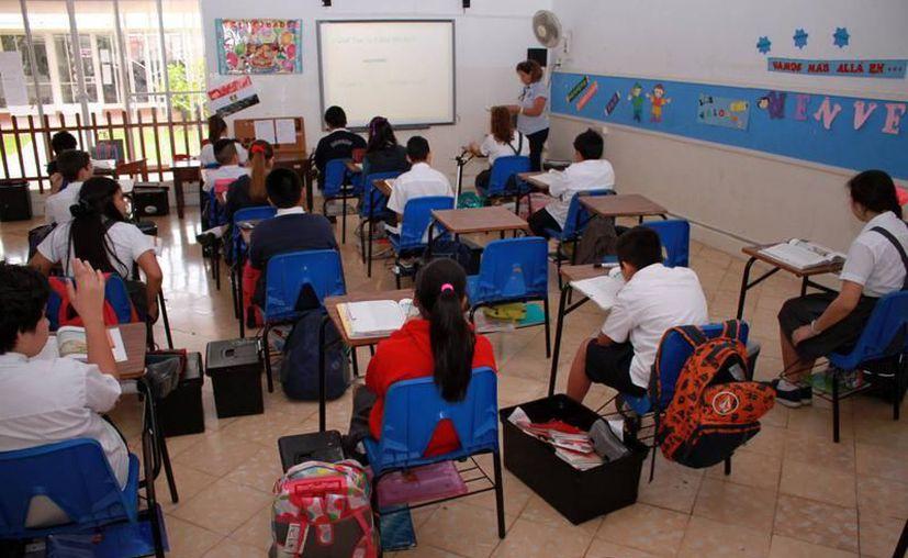 El modelo o reforma educativa ya en vigor podría afrontar cambios de fondo. (SIPSE)