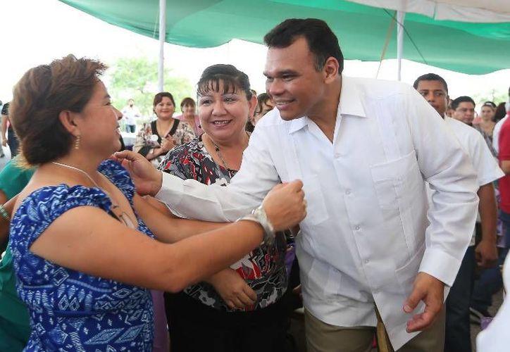 El gobernador Rolando Zapata anunció la creación de Centro de Justicia para Mujeres, mediante una inversión de 6.5 mdp, el cual deberá estar listo para los primeros meses del 2014. (Cortesía)