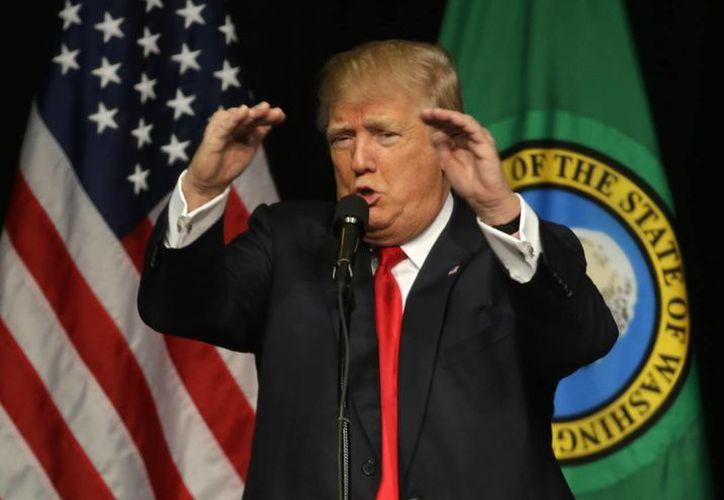 Anteriormente, 'Anonymous' declaró una 'guerra total' contra el aspirante presidencial Donald Trump, del partido republicano. (Archivo/AP)