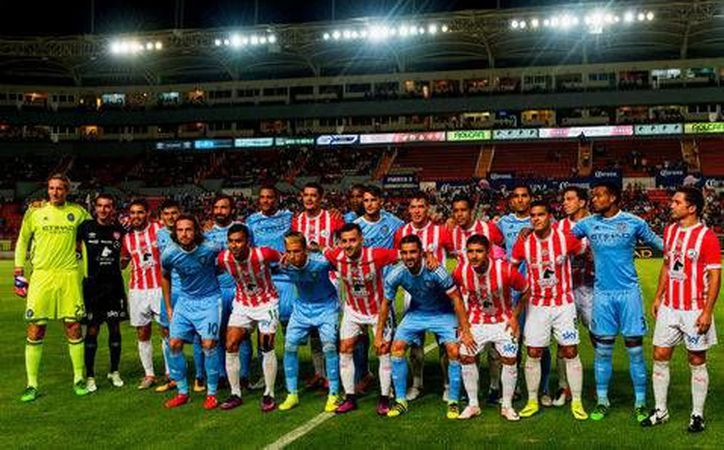 En el duelo llevado a cabo en Aguascalientes, el Necaxa alineó a jugadores titulares y le dio minutos a los que habitualmente son suplentes en la Liga MX.(Foto tomada de Club Necaxa)